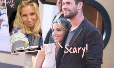 Chris Hemsworth's Wife Elsa Pataky Narrowly Escaped Her Car During Massive Flood! (Video)
