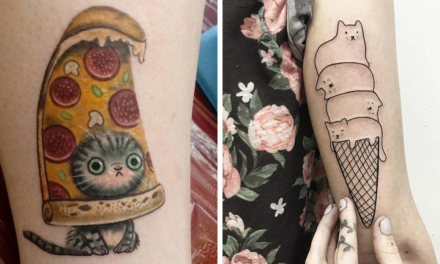 102 People Who Got Absolutely Awesome Cat Tattoos