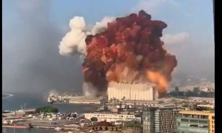 Shocking videos capture massive explosion that rocked the Lebanese capital of Beirut. At least 100 reported dead, Red Cross says.