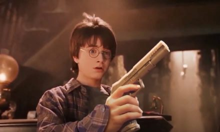 Someone edited this 'Harry Potter' film so everyone has a gun