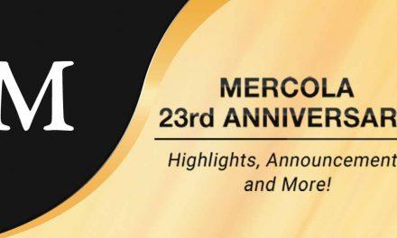 Mercola.com Celebrates Its 23-Year Anniversary