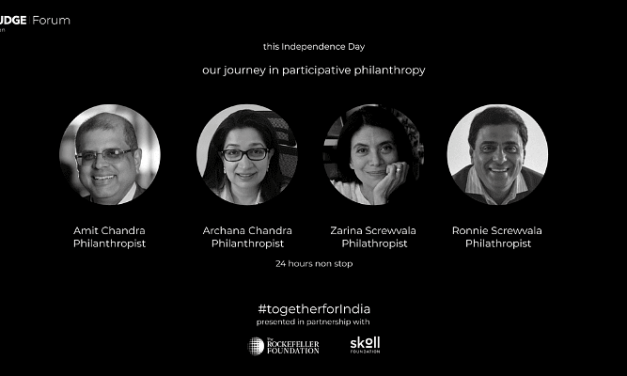 This Independence Day, uncover the power of participatory philanthropy at The/Nudge Forum global edition