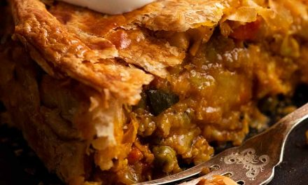 Vegetable Samosa Pie