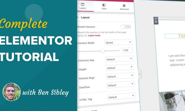 How to Use the Elementor Page Builder Plugin