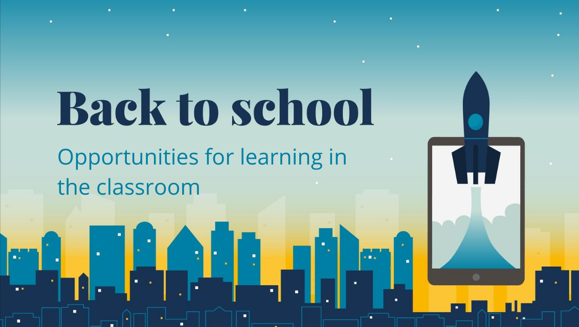 Opportunities for learning in the classroom