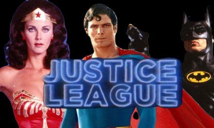 Justice League Retro Trailer Unites Reeve's Superman, Keaton's Batman & More