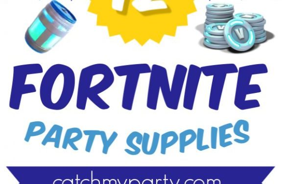 Take a Look at the 12 Best Fortnite Party Supplies!