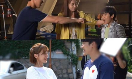 """Watch: """"Once Again"""" Cast Showcases Sweet Chemistry On Drama Set"""