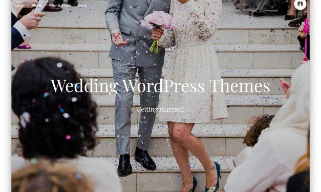 28 Beautiful & Responsive WordPress Wedding Themes 2020