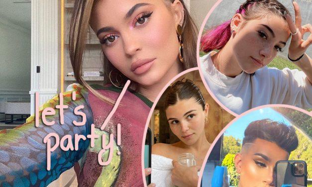 WTF! Kylie Jenner Joins TikTok & YouTube Stars For Massive Birthday Bash Violating COVID-19 Regulations!