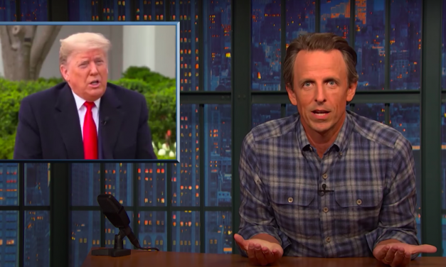 Seth Meyers blasts Trump for 'deranged lies' about coronavirus at ABC town hall