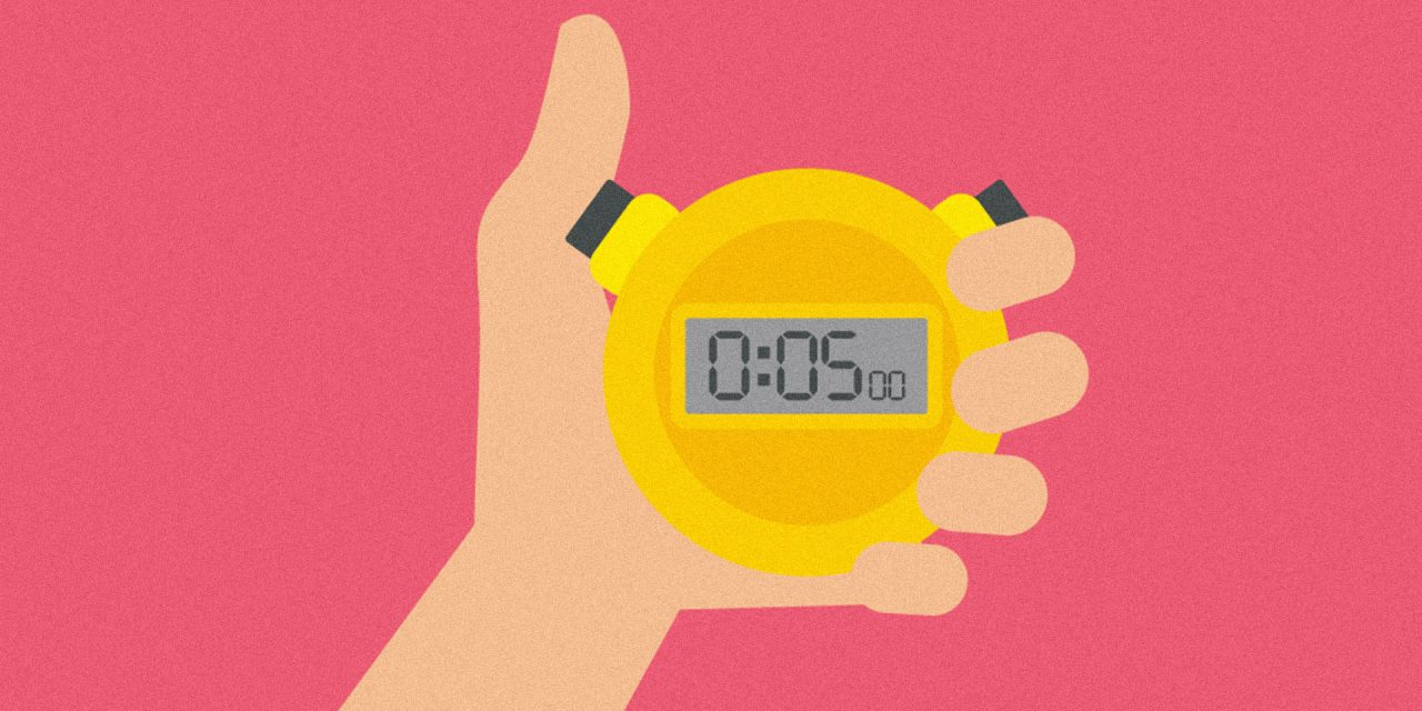 Make Progress on Goals in Only 5 Minutes