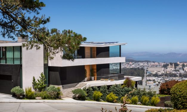 This San Francisco home is the highest residential point in the city, and it's selling for $22 million — take a look inside