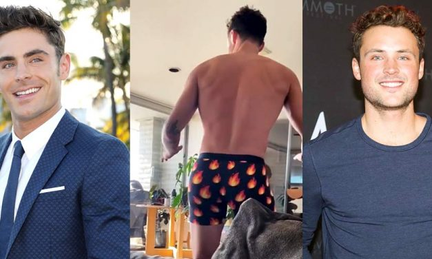 Zac Efron's Hot Brother Dylan Does a Shirtless Booty Dance in Cute New Video!