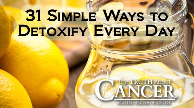 31 Simple Ways to Detoxify Every Day