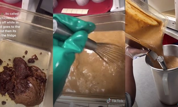 KFC worker exposes how the gravy is made in viral TikTok video