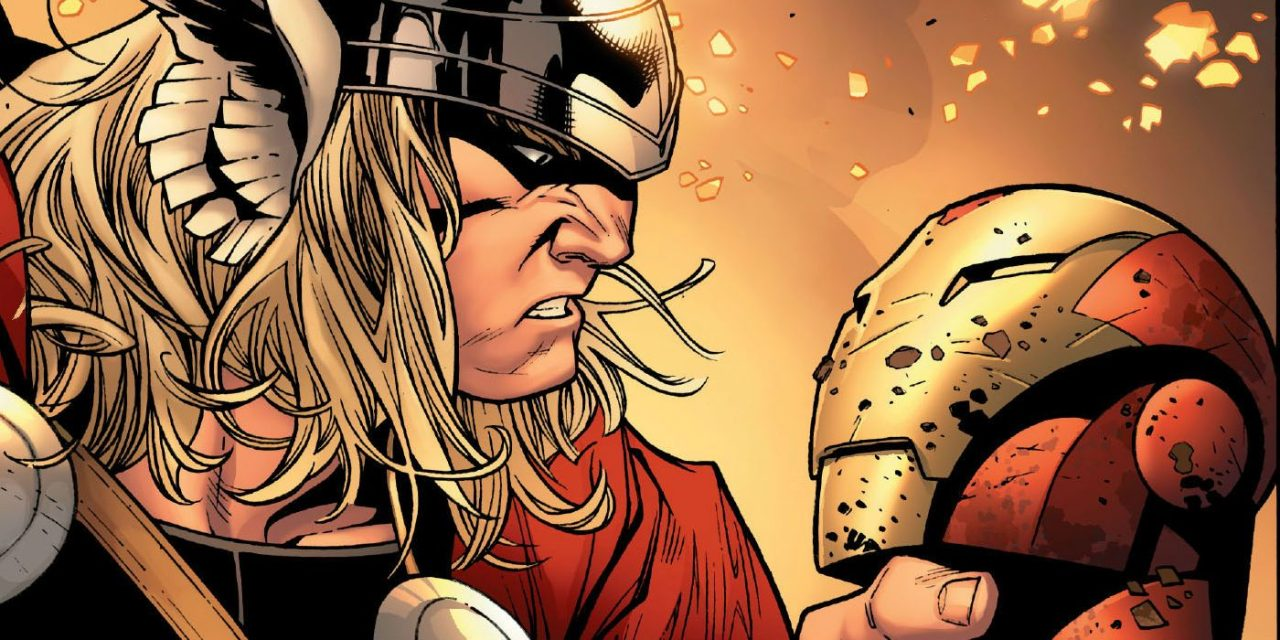 Iron Man and Thor Are Fighting Marvel's Dumbest War Ever
