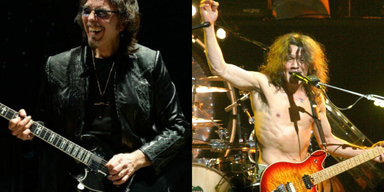 Black Sabbath's Tony Iommi remembers Eddie Van Halen in new interview