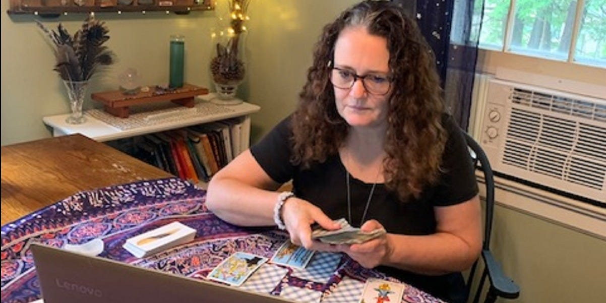 Job diary: I've been a professional tarot card reader for over 20 years — here's what my days are like