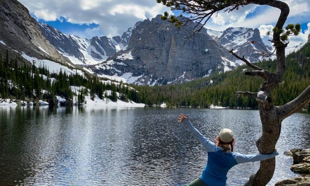 Alpine Lake Spotting at Rocky Mountain National Park