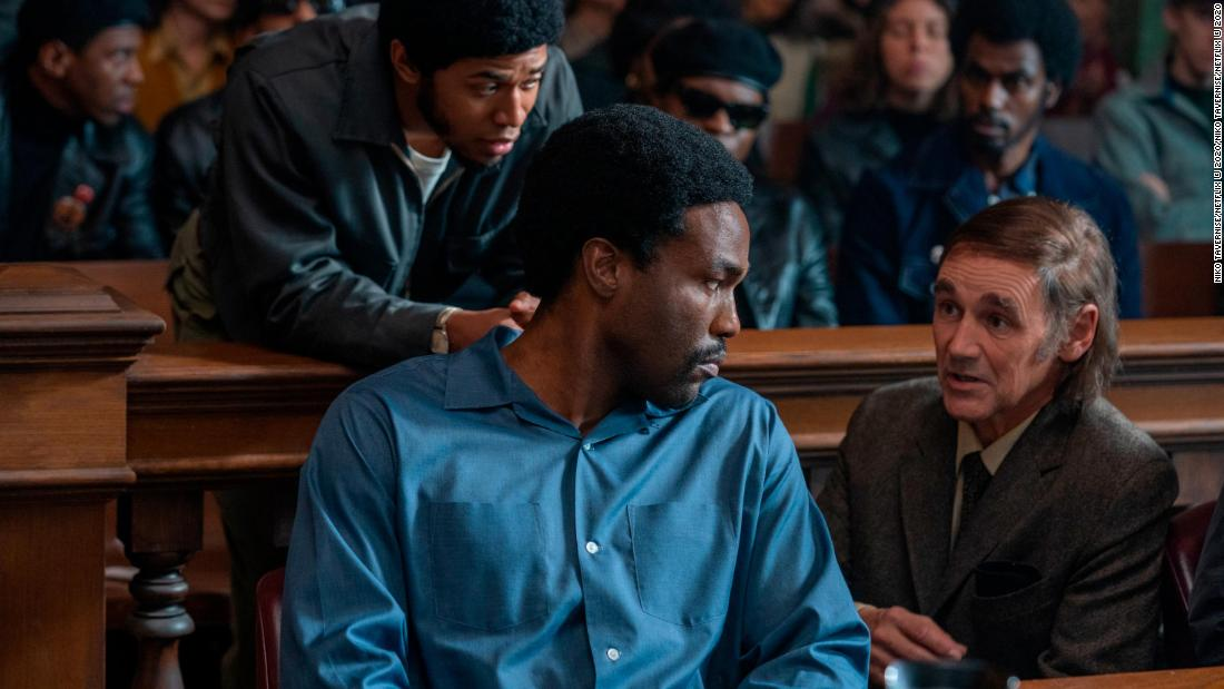 'The Trial of the Chicago 7' is a jolt of timeliness