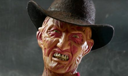 Artist Builds Freddy Krueger With Crayons & Then Melts His Face Off