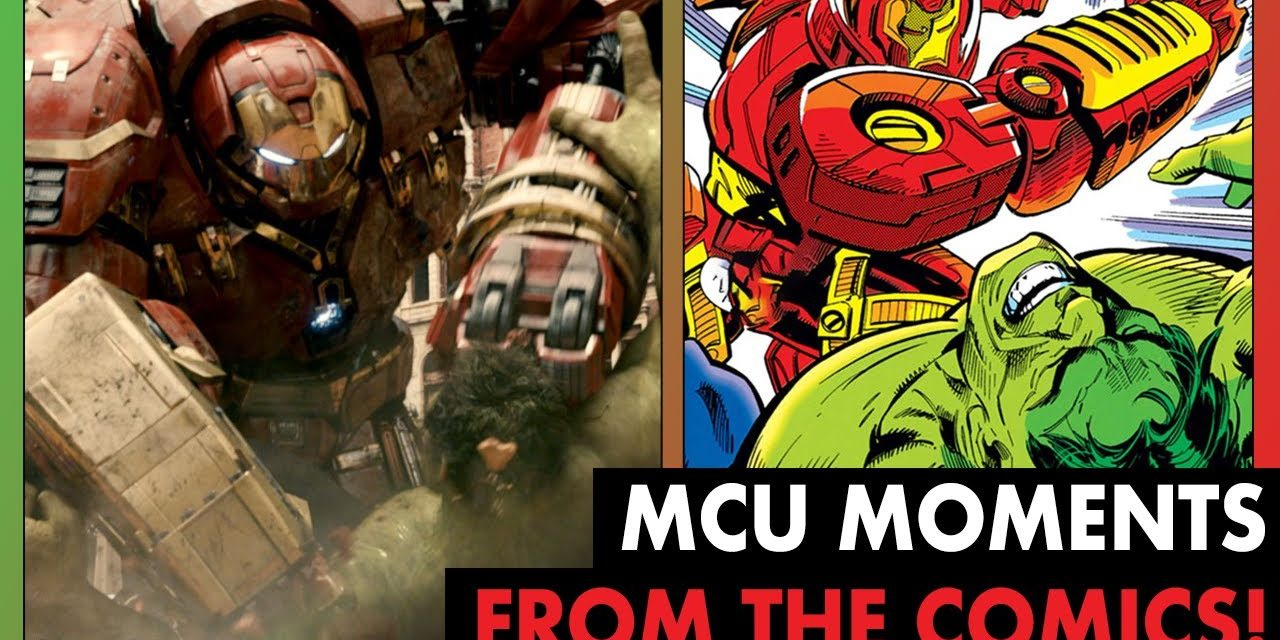 Iconic MCU Moments Pulled From Marvel Comics! | Phase 2