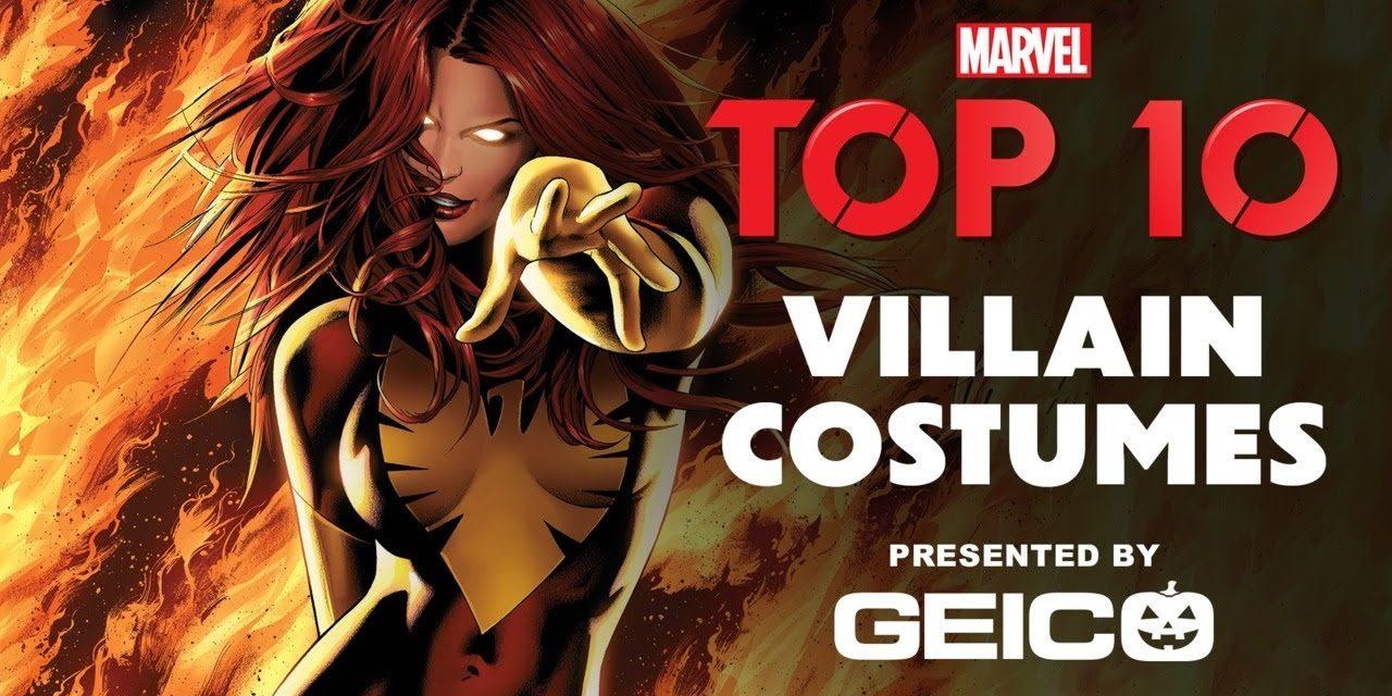 Marvel's Top 10 Villain Costumes!