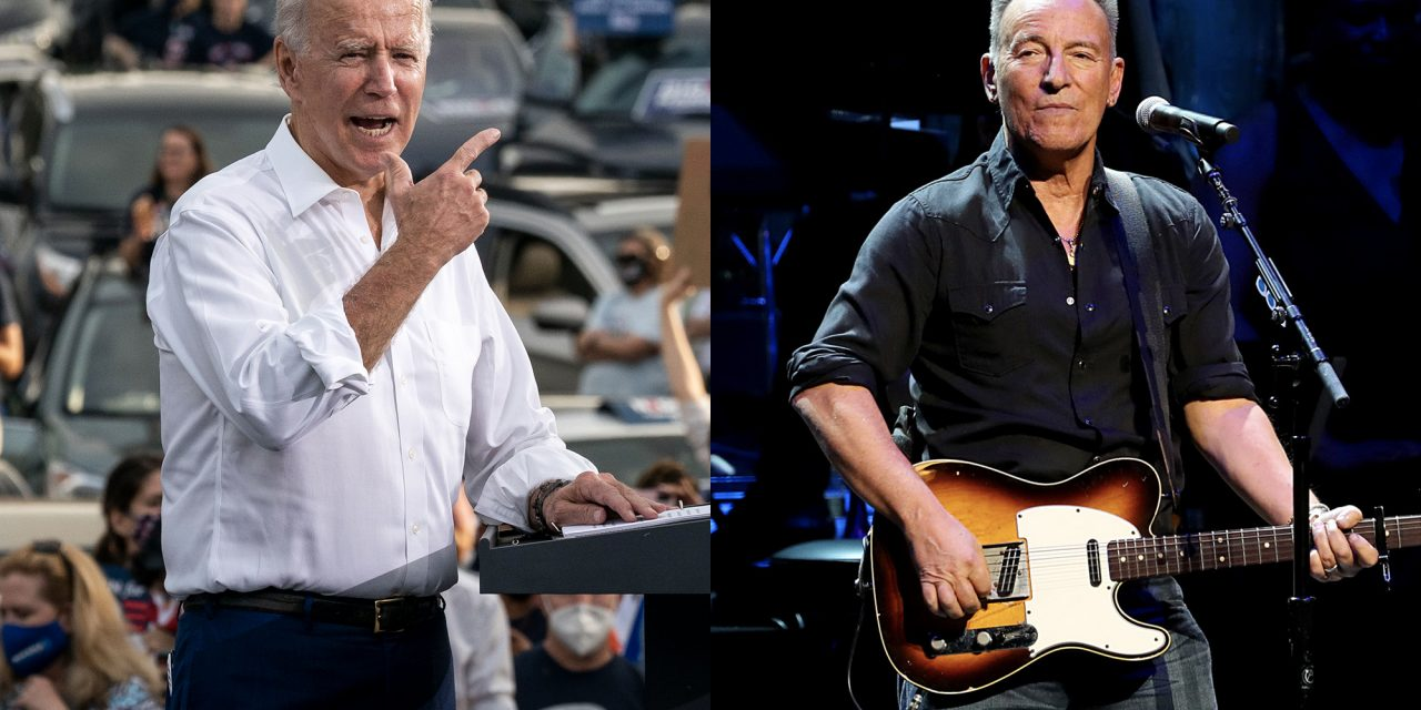 Bruce Springsteen narrates Joe Biden campaign advertisement