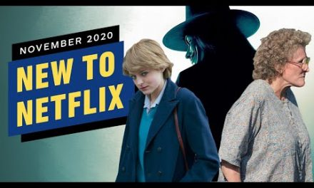 New to Netflix for November 2020