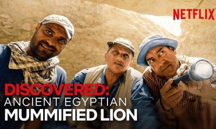 First Ever Mummified Lion Cub Discovered | Secrets of the Saqqara Tomb