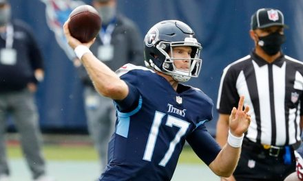 Ryan Tannehill producing like one of league's best QBs after season's worth of starts for Titans