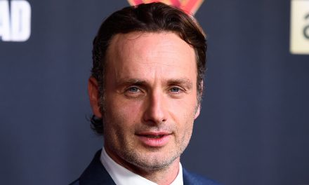 Andrew Lincoln Sports Rick Grimes-like Beard During Sighting With Bill Nighy in London