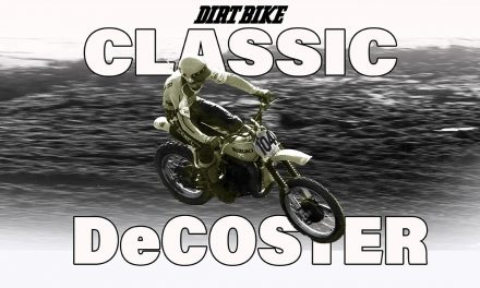 SUPERCROSS POLITICS, 1994: CLASSIC DECOSTER