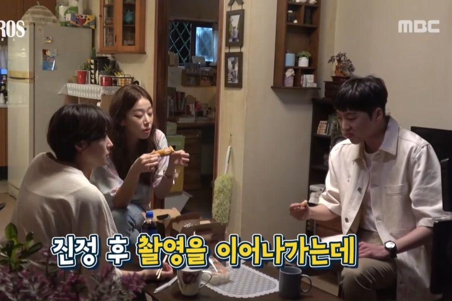 """Watch: Lee Se Young, WINNER's Kang Seung Yoon, And Lee Joo Myung Get Distracted By Chicken While Filming """"Kairos"""""""