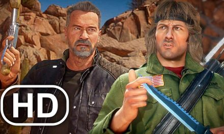 MK11 Rambo Vs Terminator Gameplay Full Fight Mortal Kombat 11