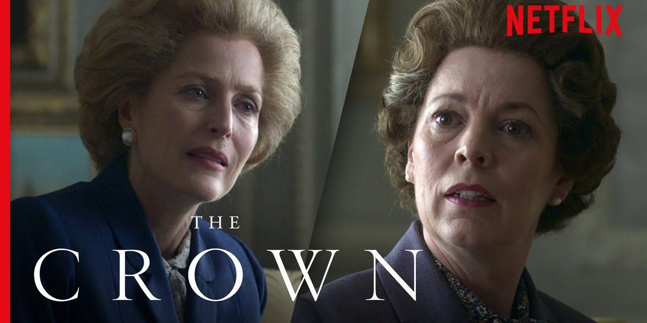 Queen Elizabeth II Meets Margaret Thatcher (Full Scene)   The Crown