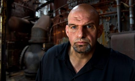 John Fetterman, Pennsylvania's lieutenant governor and a rising star in the Democratic Party, isn't a progressive. He says he's just being honest.