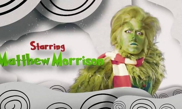 Glee's Matthew Morrison As The Grinch Is A Nightmare