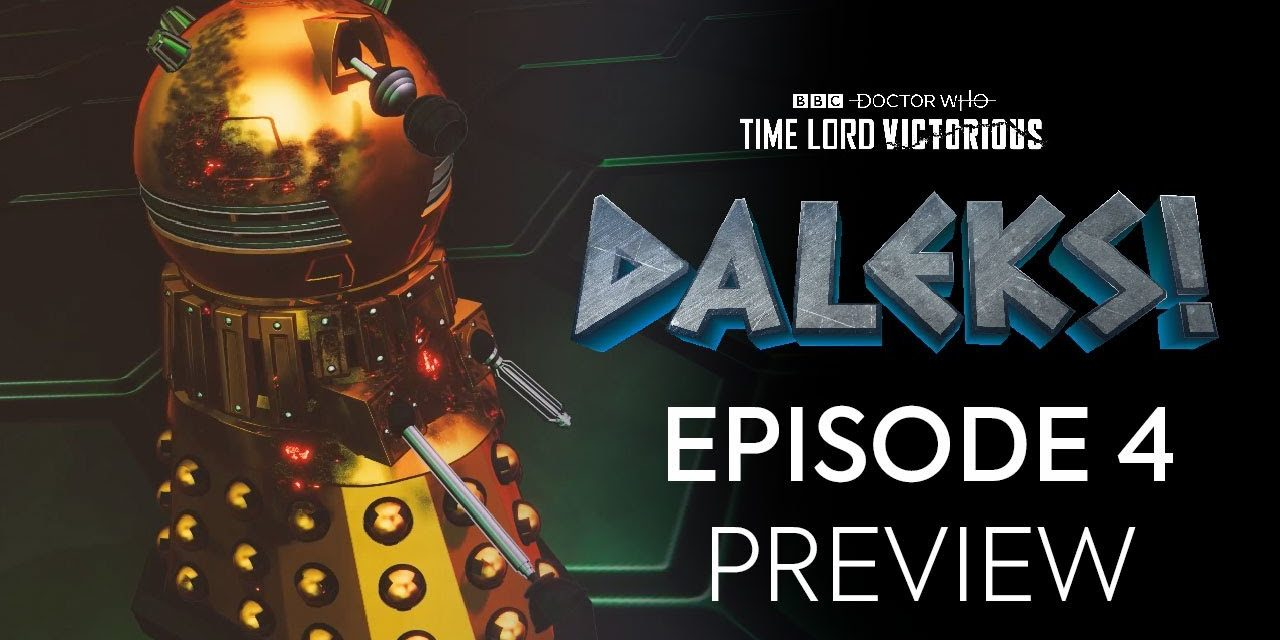 Episode 4 Preview   DALEKS!   Doctor Who