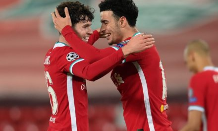 Liverpool academy pair set club record to guide Reds into Champions League's last-16/Klopp provides Robertson update