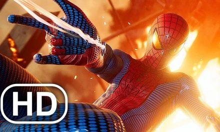 The Amazing Spider-Man Saves Aunt May In Burning House Scene 4K ULTRA HD – Spider-Man Remastered PS5