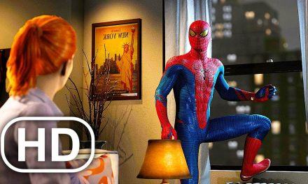 The Amazing Spider-Man Leaves MJ Scene 4K ULTRA HD – Spider-Man Remastered PS5