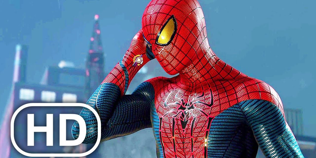 The Amazing Spider-Man Vs Electro Fight Scene 4K ULTRA HD – Spider-Man Remastered PS5