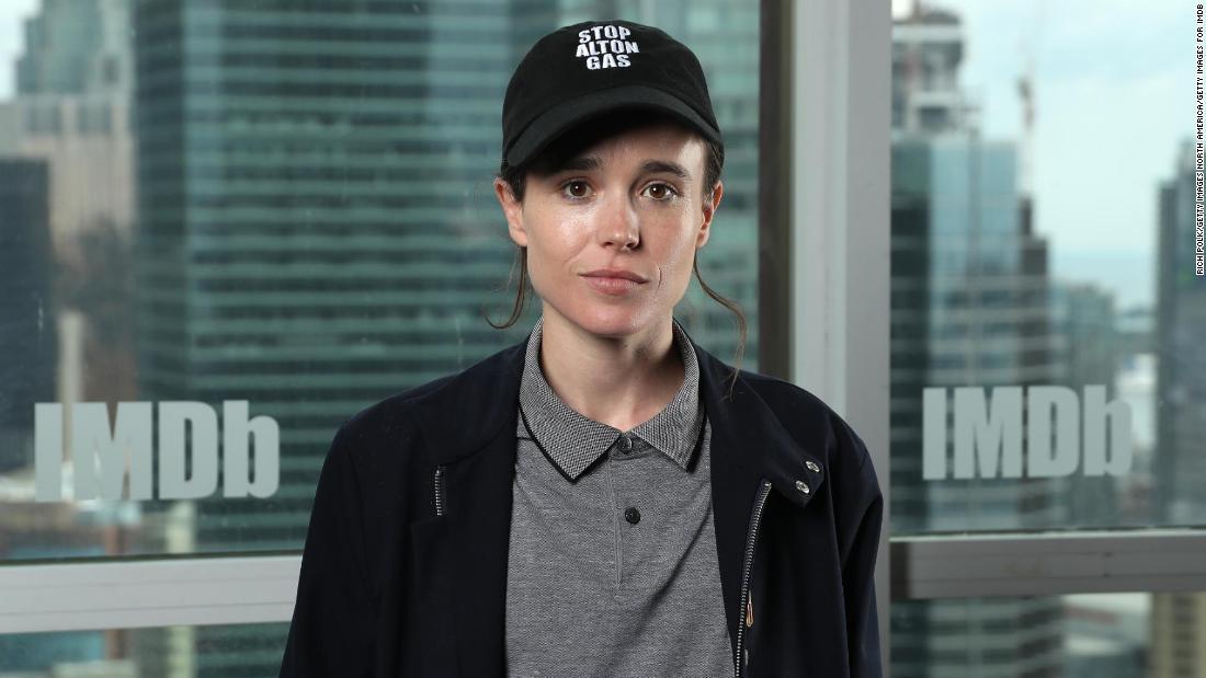 'Juno' star Elliot Page shares transgender identity