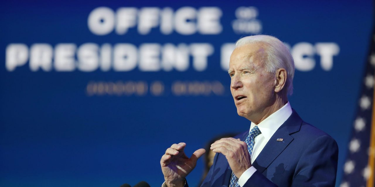 Joe Biden throws his support behind the $908 billion compromise relief package while emphasizing he will press for more aid after his inauguration
