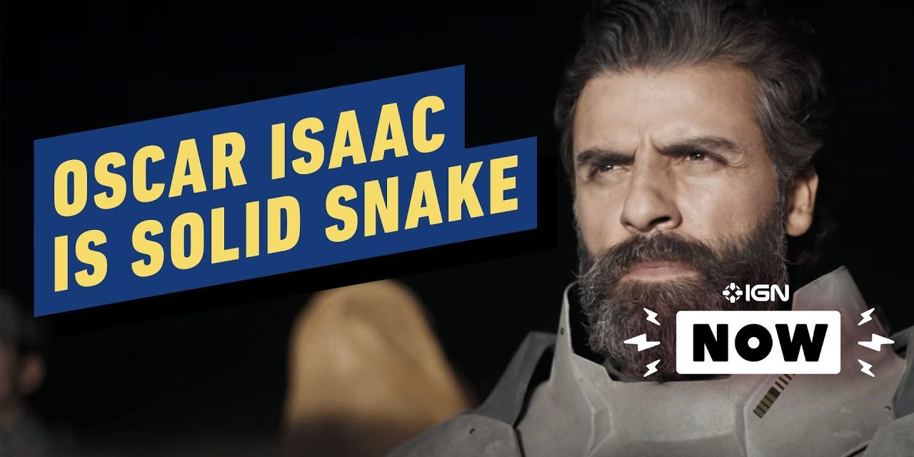 Metal Gear Solid Movie Casts Oscar Isaac – IGN Now