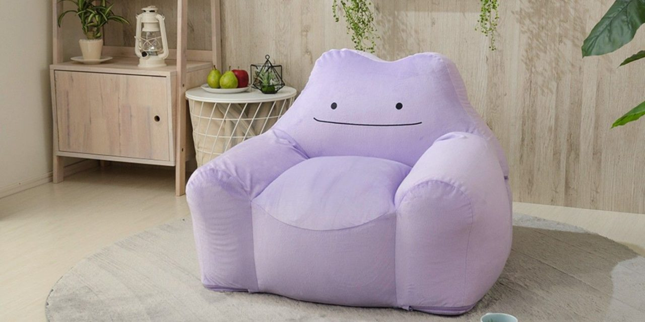 Pokémon Fans Can Now Have Ditto For A Sofa | Screen Rant
