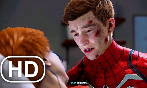 Aunt May Asks Spider-Man To Remove His Mask Before She Dies Scene 4K ULTRA HD Spider-Man Remastered