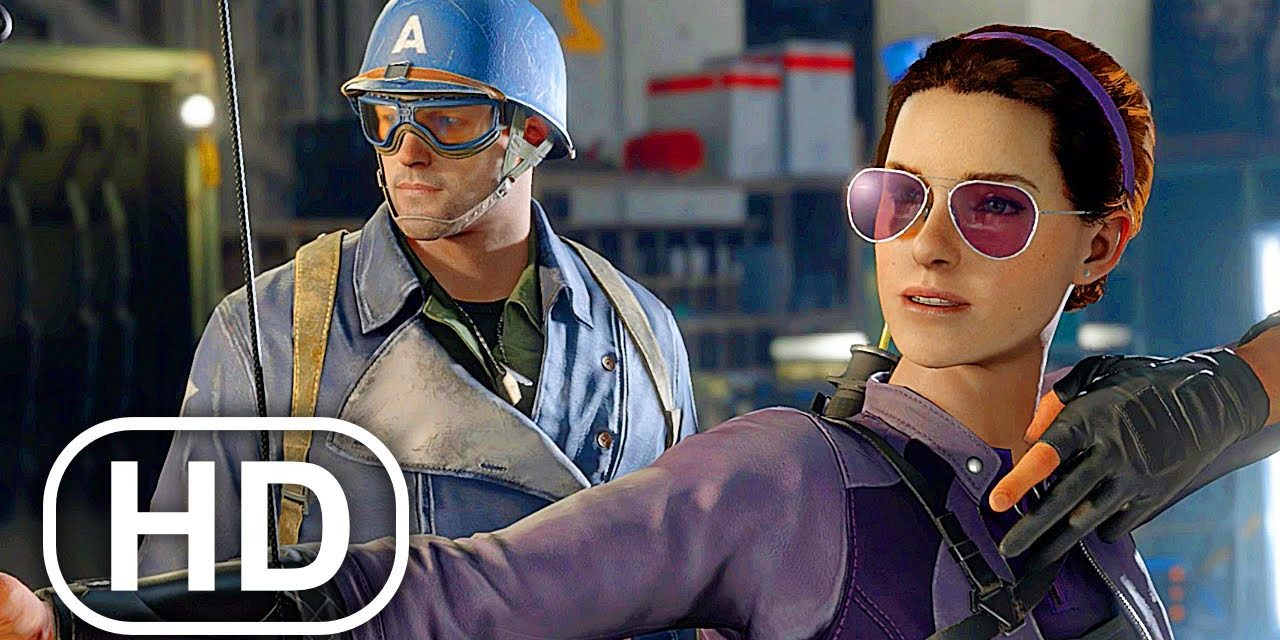 Marvel's Avengers Kate Bishop Becomes An Avenger Scene 4K ULTRA HD